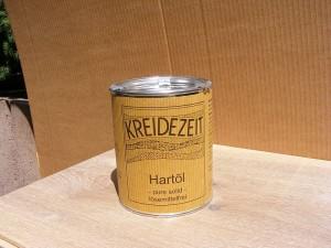 Kreidezeit Hartöl ist pure solid, d.h. es wird als Pulver geliefert
